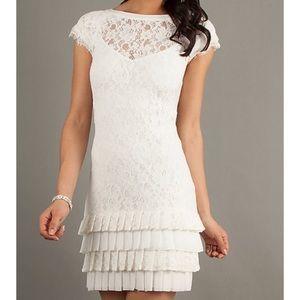 Jessica Simpson Cream Lace Dress